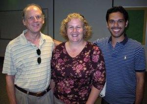 Scott Lewis, Melissa Contreras, Antonio Guadamuz
