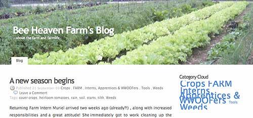 Farmer Margie's blog!