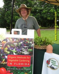 Melissa Contreras, author of Organic Methods for Vegetable Gardening.