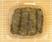 Mediterranean share: Stuffed grape leaves