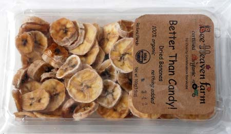 Dried bananas are sweet, chewy, and full of real banana flavor.